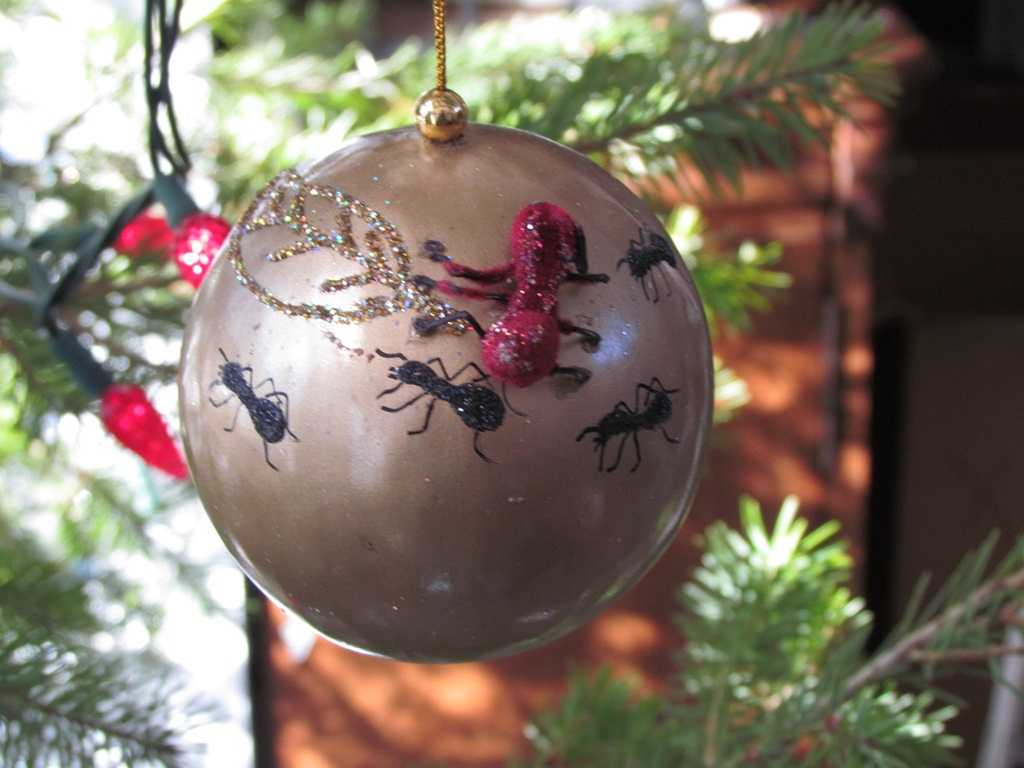 Yearly christmas ornaments - 2008